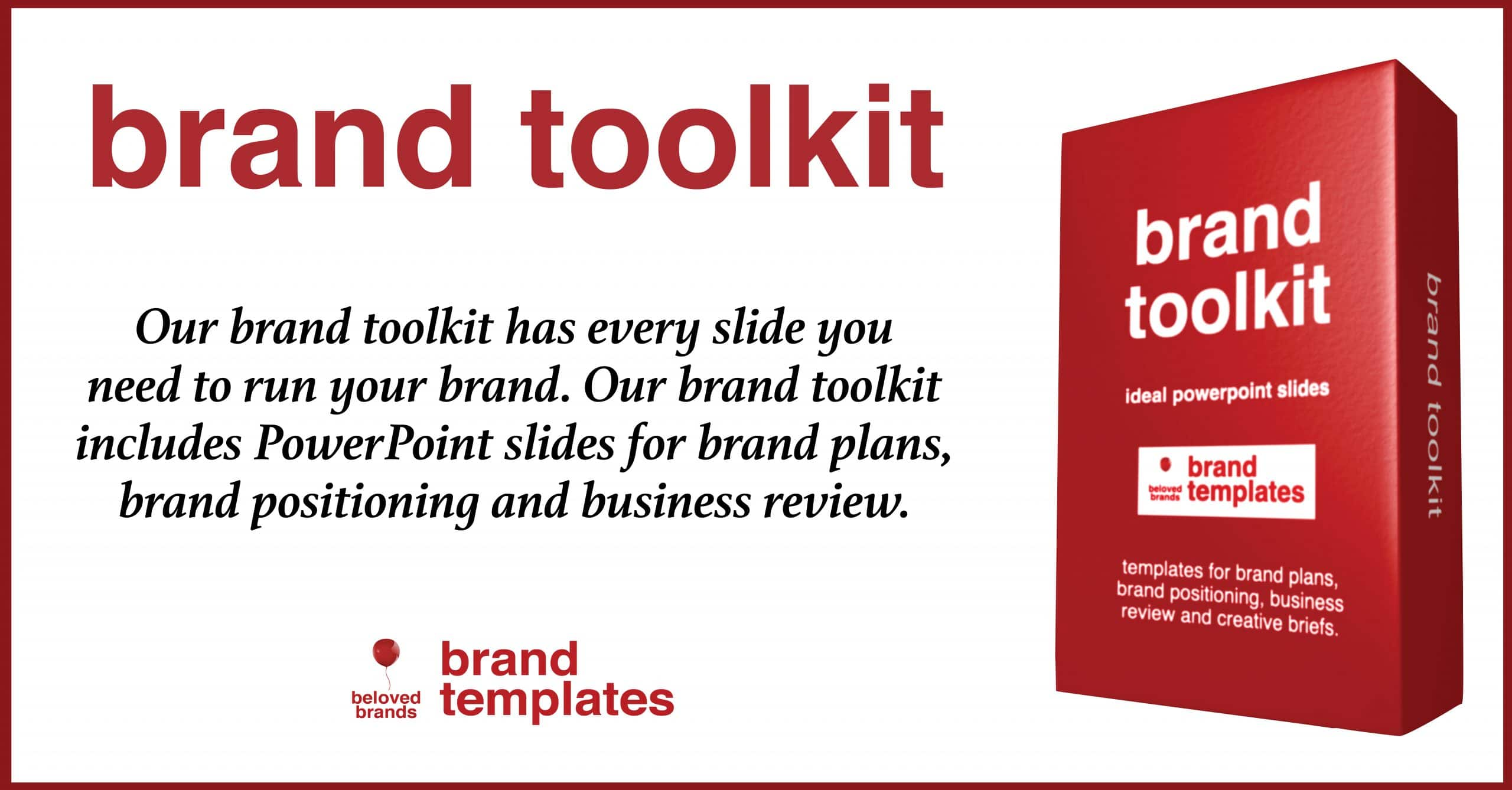 Brand Toolkit template